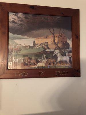 Noah's Ark real Wood Frame for Sale in Alexandria, VA