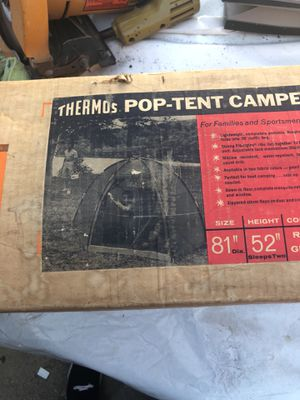 Thermos pop tent for Sale in West Los Angeles, CA