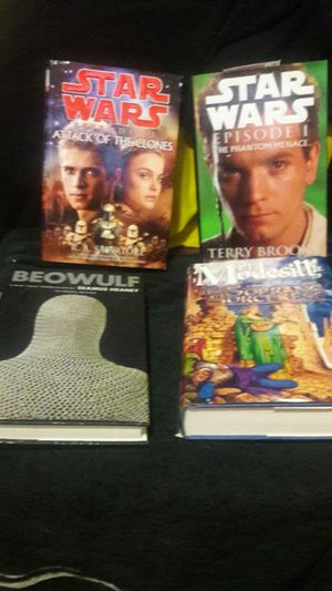 4 Great books true Star Wars books for Sale in San Francisco, CA