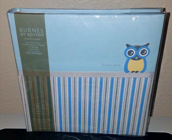 Burnes Of Boston Photo Album Little Boy Owl New For Sale In Las