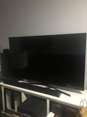 """48"""" tv, soundbar and sub for Sale in Tampa, FL"""