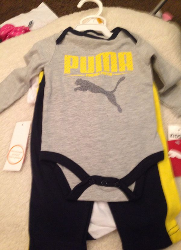 761ea4e99e7e Puma baby boy set clothes for Sale in Corona