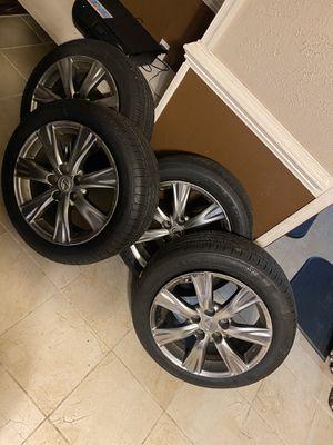 "Photo 17"" tires with Lexus rims"