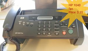 Fax HP 1040 ( price on the picture ) for Sale in Las Vegas, NV