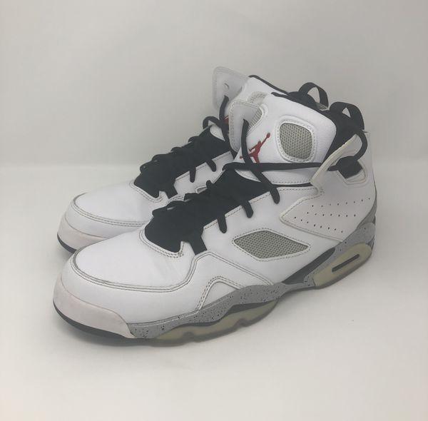 Nike Air Jordan Flight Club 91 Men s Size 10.5 White Gray for Sale ... 93bce9872