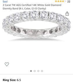 2 carat ring Thumbnail