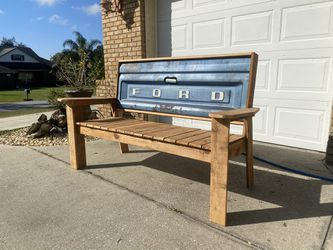 Father's Day Gift! - Ford Tailgate Bench Thumbnail