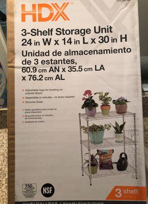 3 Shelf storage unit for Sale in Orlando, FL