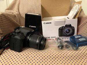 Canon 700d ($600 OBO) for Sale in San Francisco, CA