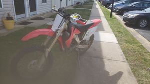 Photo 2006 crf 250x with title