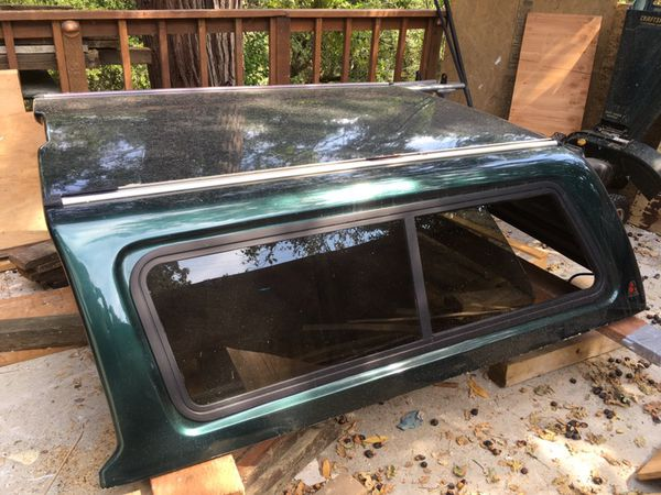 Leer Ford F 150 5 5 Dark Green Camper Shell For Sale In Lafayette