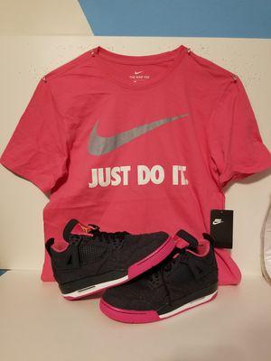 Nike Air Jordan Retro 4 ss 8.5Y WM SZ 9.5 for Sale in Poinciana, FL