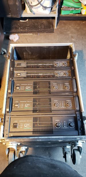 Qsc touring amplifiers. for Sale in Los Angeles, CA