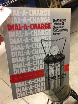 Used Dial-A-Charger Refrigerate Tool Equipment Data Tech Manual Working Thumbnail