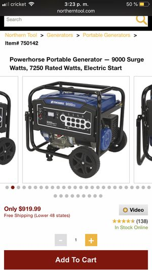 New and Used Generator for Sale in Pflugerville, TX - OfferUp