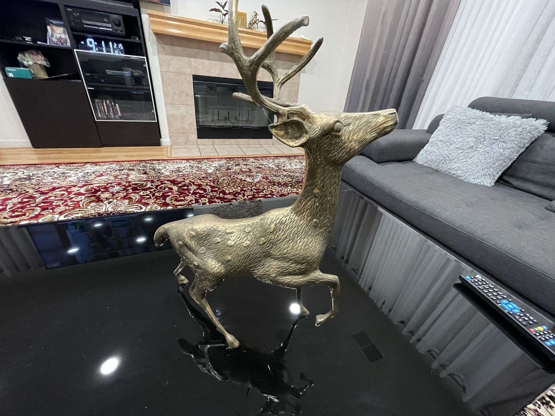 Brass Deer (Male And Female)
