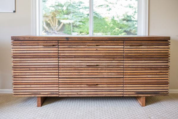 Crate And Barrel Paloma Sideboard Originally 2500 For Sale In