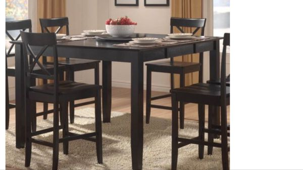 Pub table6 chairs for sale in lincoln ca offerup watchthetrailerfo