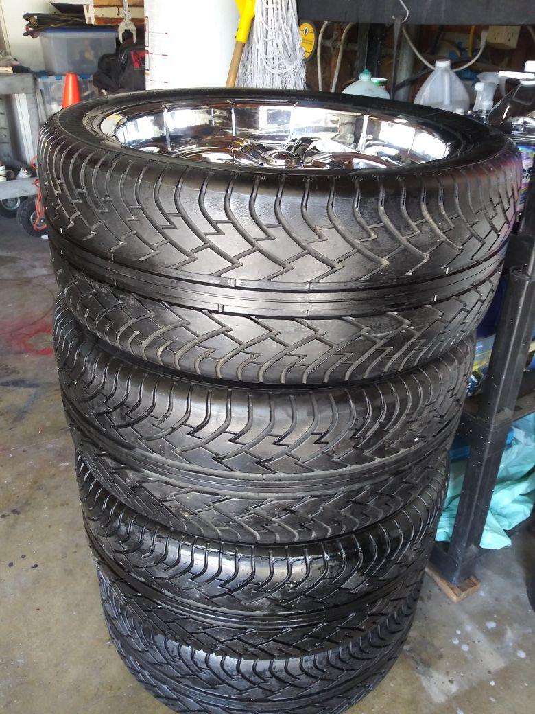 22 inch rims & tires