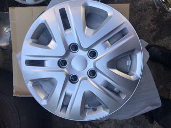 "4 Hubcaps 17"" Chrysler dodge replica Thumbnail"