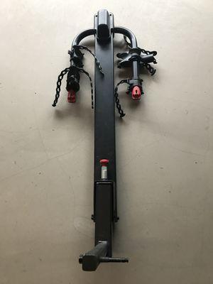 Yakima hitch mounted tilt bike rack (2 bikes) for Sale in Ashburn, VA