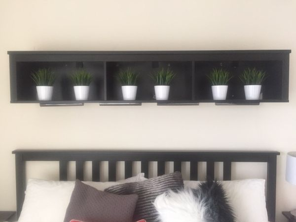 Ikea Hemnes Wall Bridging Shelf For