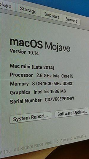 Mac mini i5 for Sale in Livonia, MI