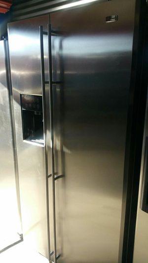 Ge monogram stainless steel fridge for Sale in Orlando, FL