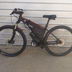 E-Bike City-Off Road 37mph top Speed. DIY 3000 Watt Mid Drive Motor Thumbnail