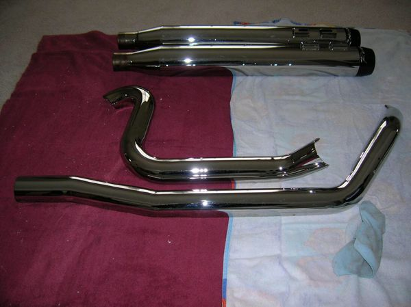 Rinehart True Dual Exhaust System for Harley for Sale in Sacramento, CA -  OfferUp