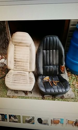 1970 1981 Firebird Camaro bucket seats Trans Am Z 28 Vega 1970 1972 for Sale in St Louis, MO