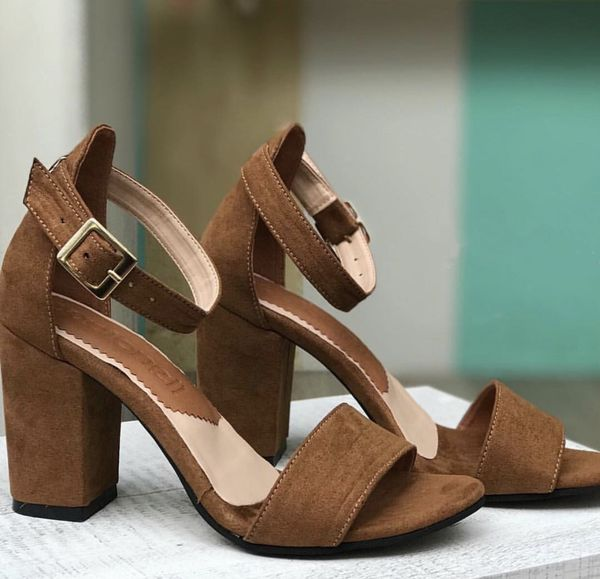 eab7c79d79c0 Women shoes block heel sandals. Size 8. Made in Colombia. for Sale ...