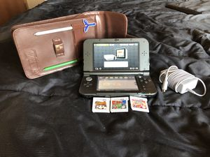 NEW NINTENDO 3DS XL w/ 8 games! for sale  Augusta, KS