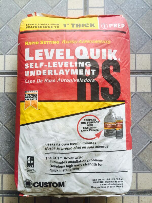 Levelquik Rs Self Leveling Underlayment For Sale In Kissimmee Fl