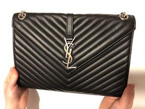 Saint Laurent black shoulder bag for Sale in Alexandria, VA