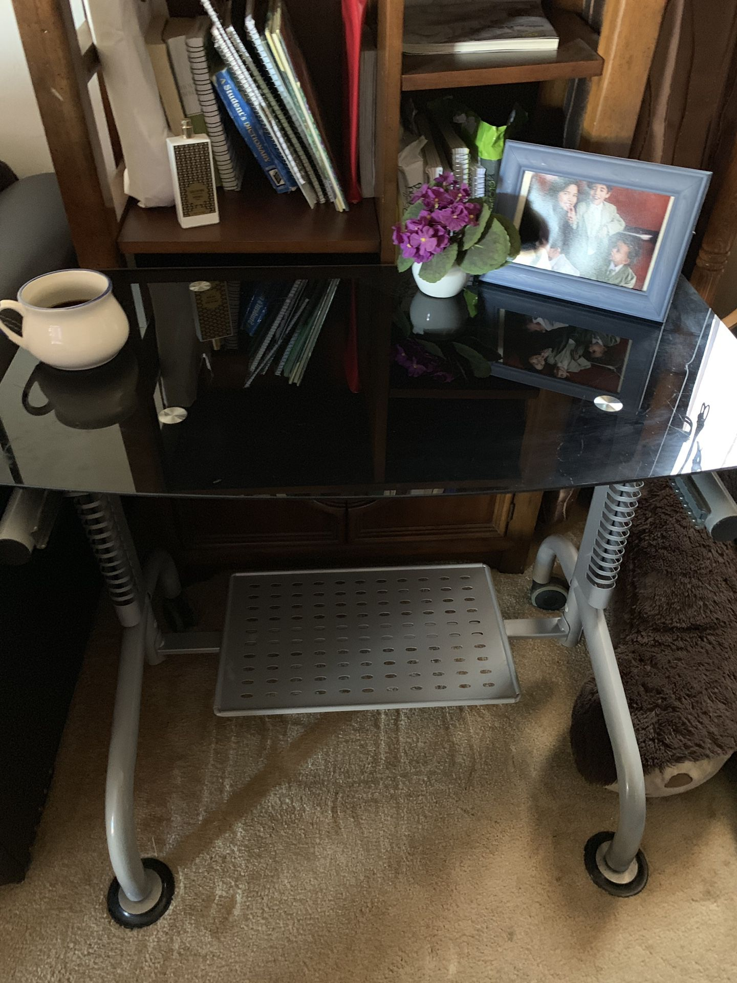 Mid size Glass desk