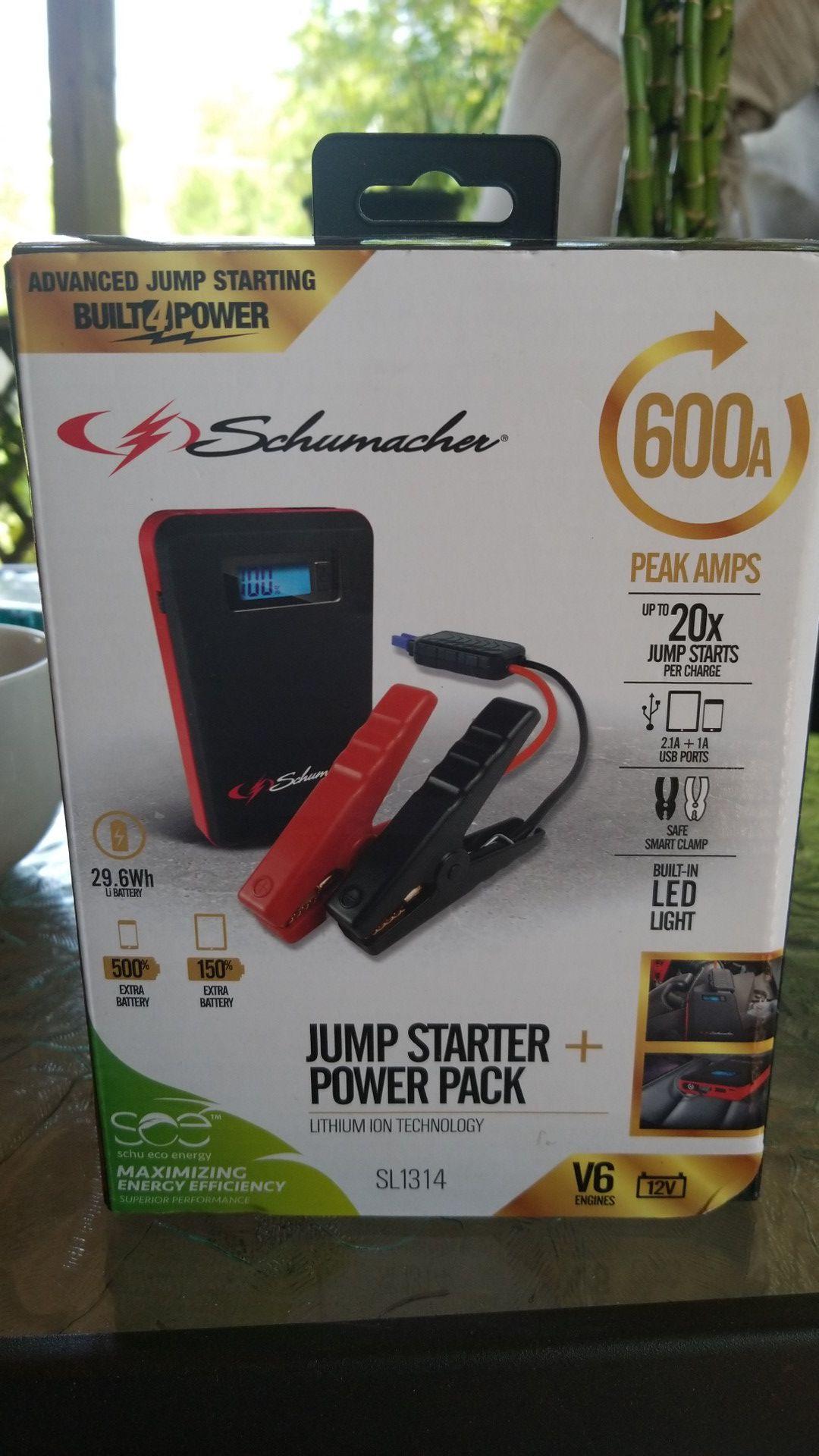 Jump Starter Plus Power Pack