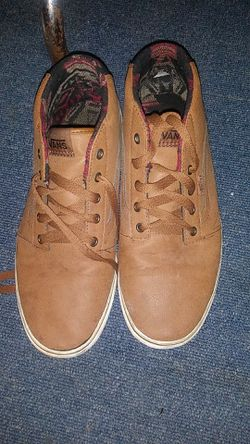 Vans high tops brown leather Thumbnail