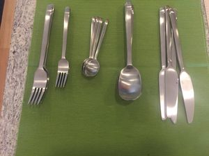 Cutlery set and knives (4 piece each) plus flatware tray for free for Sale in Washington, DC