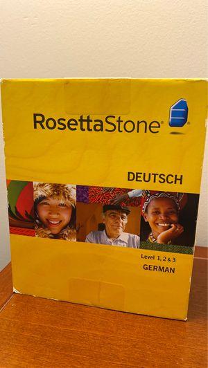 Photo Rosetta Stone - German