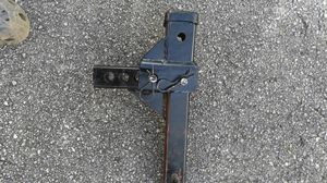 Heavy duty trailer hitch adjustable for Sale in Miami, FL