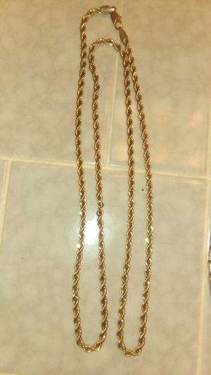 Photo 14k gold chain