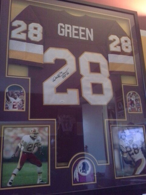 newest affc7 f9240 Redskins Darrell Green autographed jersey for Sale in Falls Church, VA -  OfferUp