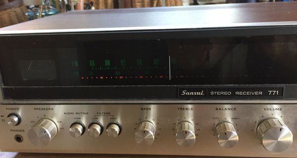 SANSUI STEREO RECEIVER 771 for Sale in Anacortes, WA - OfferUp