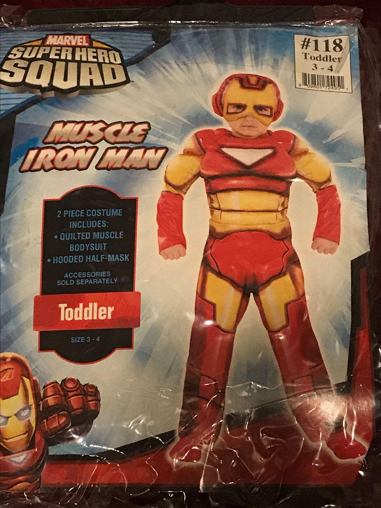 Toddler Muscle Iron Man