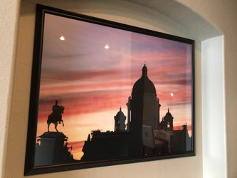 2 Large Framed Pictures Thumbnail