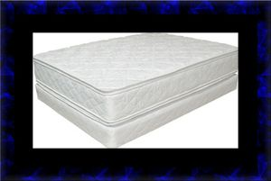 King Double pillowtop mattress with split box spring for Sale in Ashburn, VA