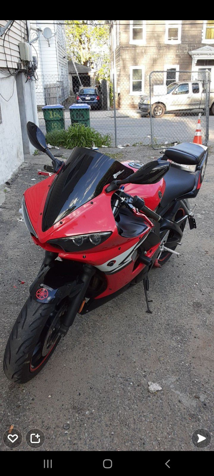 Photo Dont Waste My Time 2004 Salvage Clean Title Yzf Yamaha R6