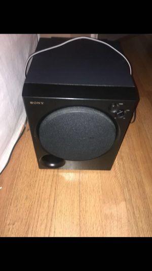 Subwoofer, Speaker Sony. SA-WMSP75 for Sale in Atlanta, GA