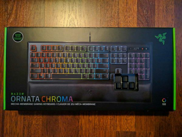 4741d9ed246 NEW Razer Ornata Chroma Mechanical Membrane Gaming Keyboard Wrist Rest